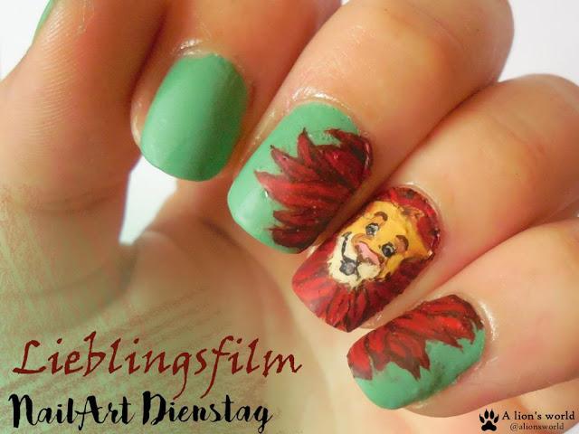 Nailart-Dienstag Lieblingsfilm Der König der Löwen