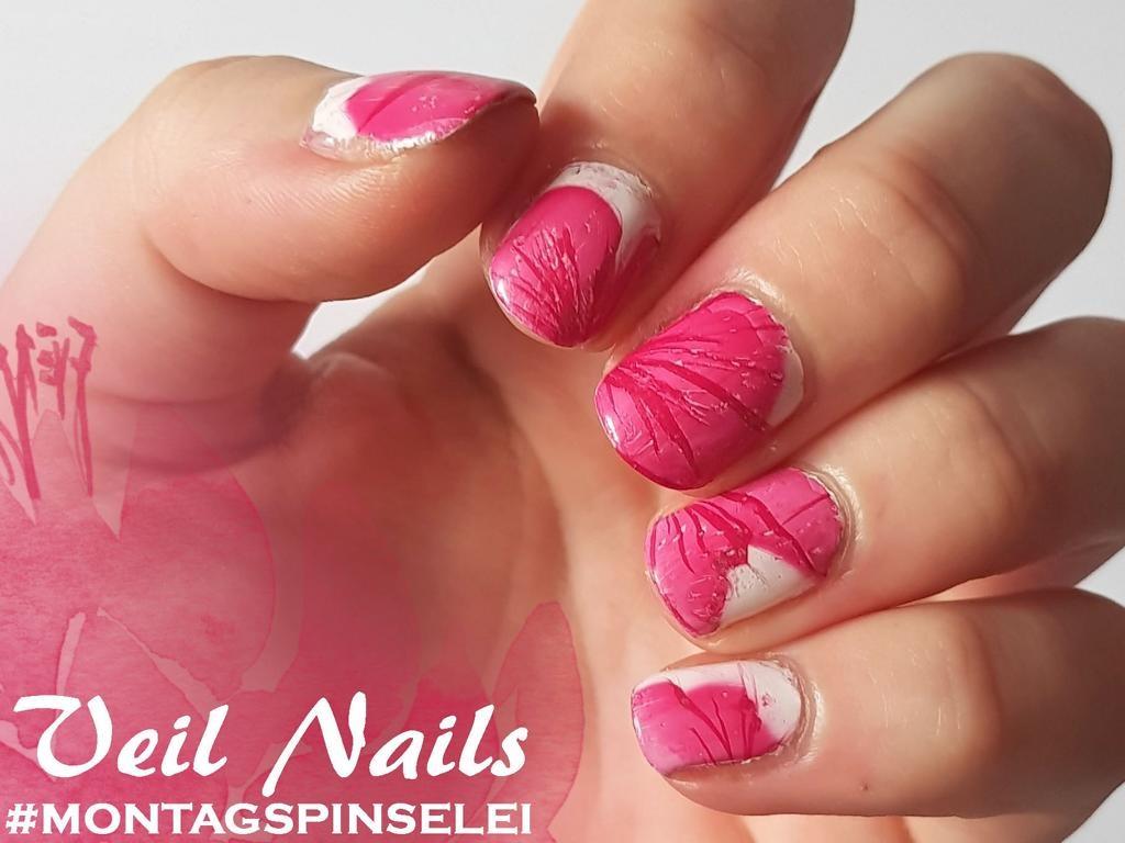 Montagspinselei - Veil Nails